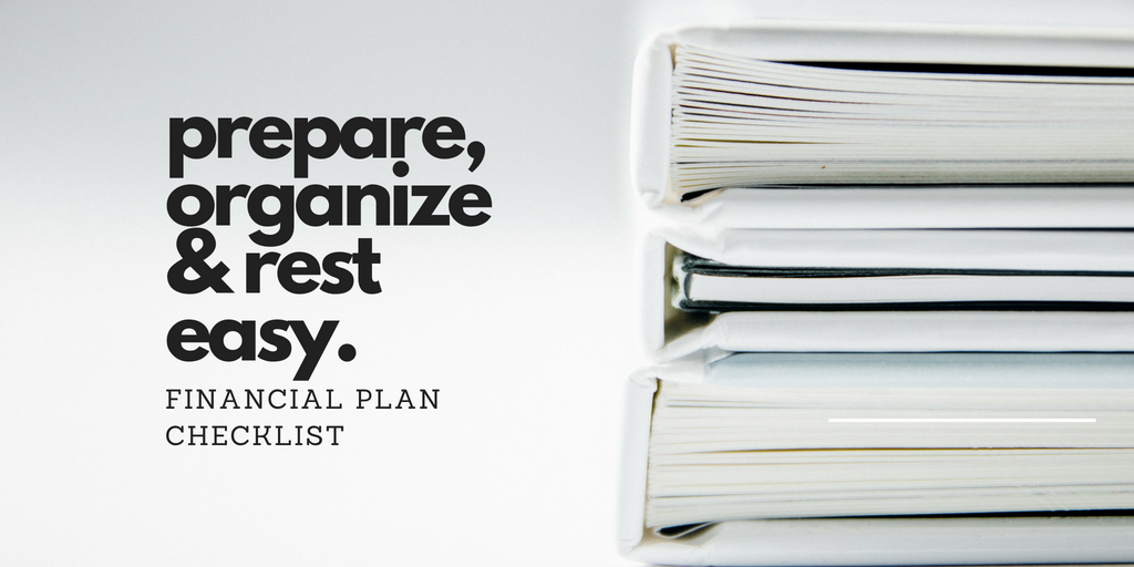 a financial plan checklist an essential estate planning tool